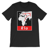 The R1a Haplotee Shirt by DNAGeeks in Sequencing.com's Marketplace for DNA Personalized Products
