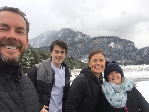 Schereck Family, creators of the Action Sports Anchor