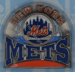 New York Mets wearable lapel pin