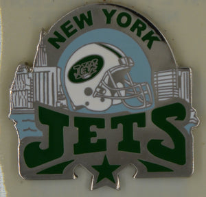 New York Jets wearable lapel pin