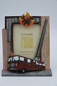 Vanmark Red Hats of Courage VFM2082809  4 inch x 6 inch Engine Ready Photo Frame
