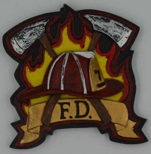 Vanmark Red Hats of Courage Firefighter Magnet VFM2088329