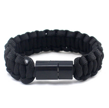 USB Android Data Cable Survival Bracelet