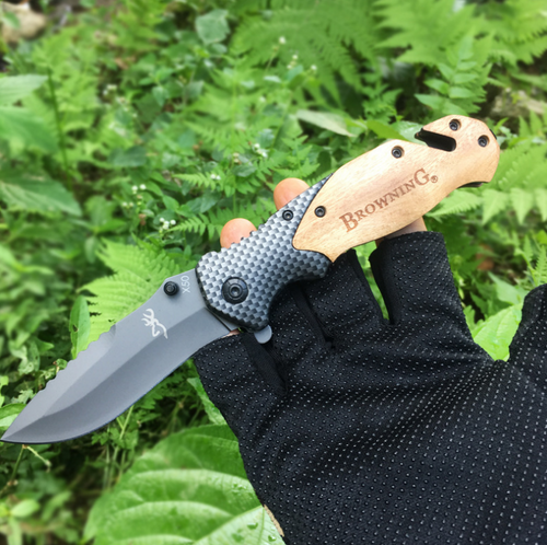 Bushcraft Tactical Knife
