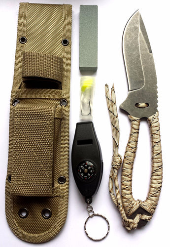 Bushcraft Camping Knife Toolkit