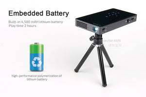 7.1 DLP Projecteur, WIFI, Bluetooth, 4500mAH