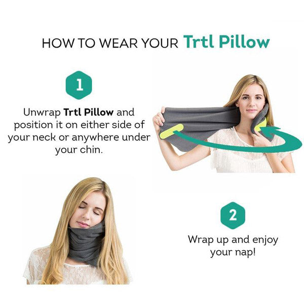 Super Soft Neck Support Travel Pillow ins 1