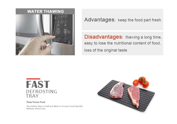 defrost tray