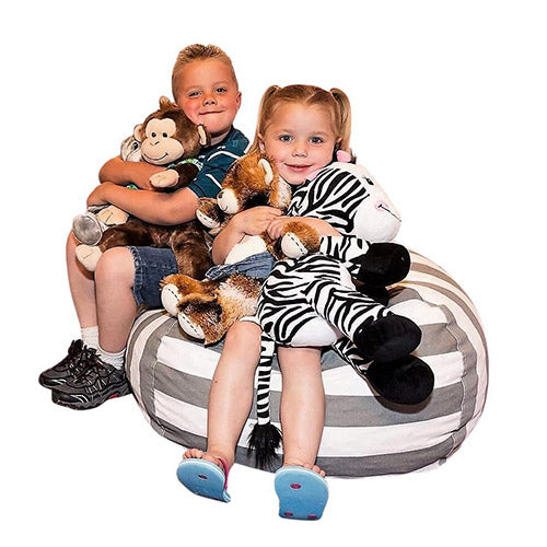 Stuffable Toys Bean Bag Storage