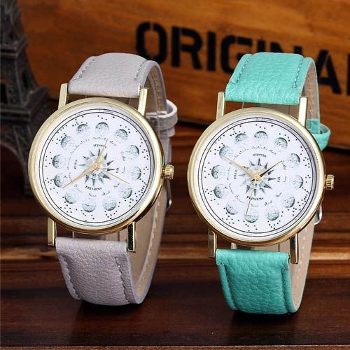 Vintage Astronomy Casual Women Watch