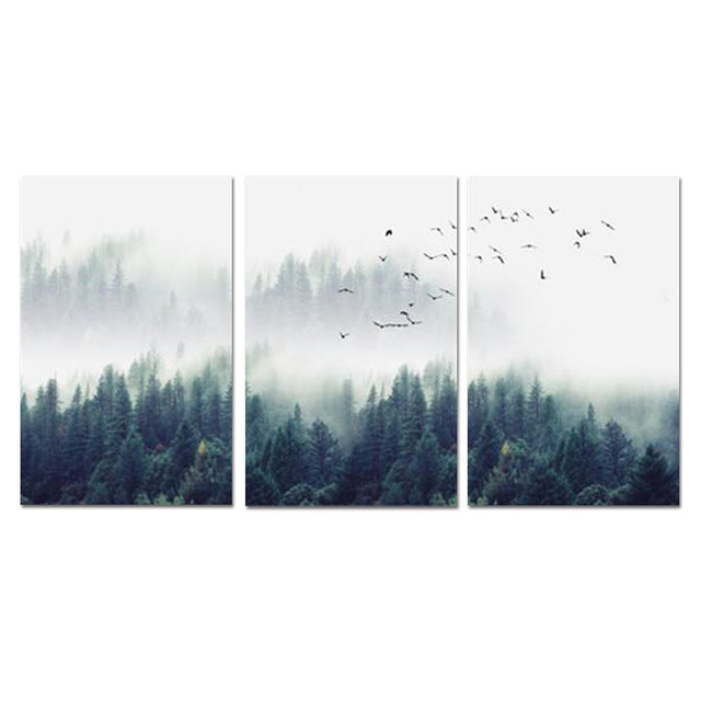 FOREST TRIPTIC