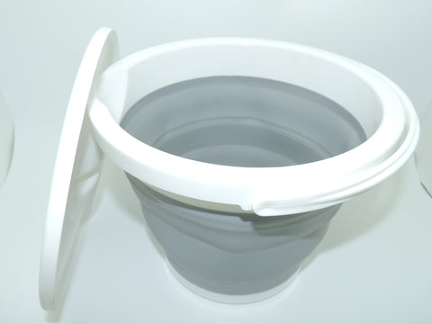 Collapsible Bucket with Handle & Lid - 5 Litre