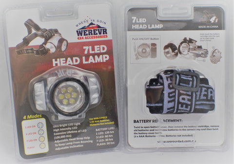 Headlamp - 7LED