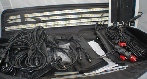 LED 4 Piece 50cm Rigid Light Bar Kit