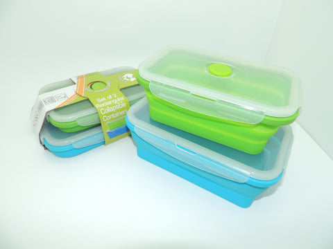 Collapsible Rectangle Containers