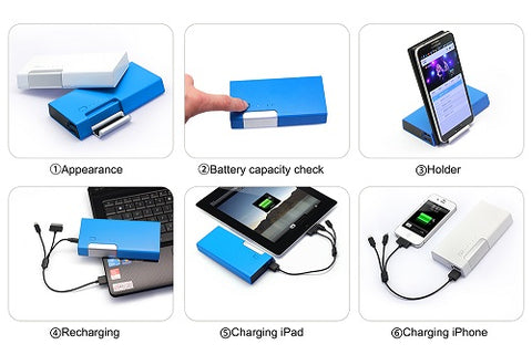 Non Solar Tablet/Phone Holder & Power Bank