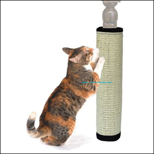 Protective Cat Scratching Pad / Board - www.JoyFromCats.com