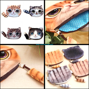 Cute Kitty Coin Purse - www.JoyFromCats.com