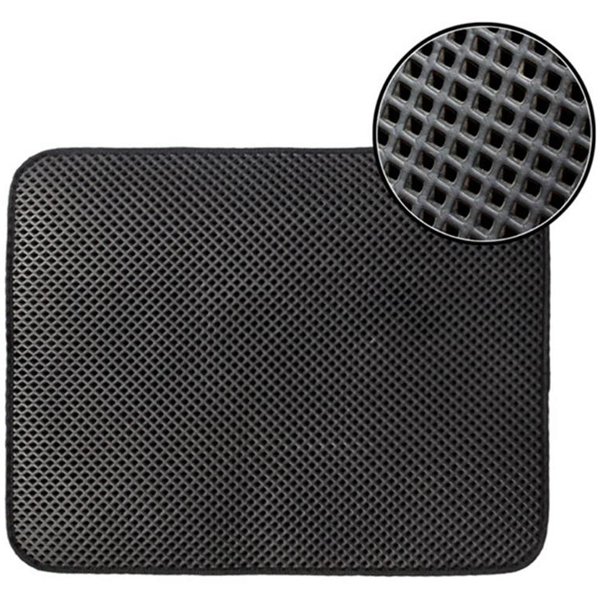 Double Layer Waterproof Non-slip Litter Mat - www.JoyFromCats.com