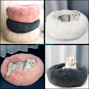 Comfy Cat Marshmallow Cat Beds - www.JoyFromCats.com