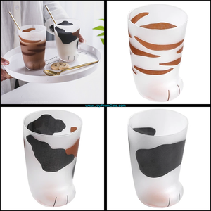 Cute Kitty Paw Mugs - www.JoyFromCats.com