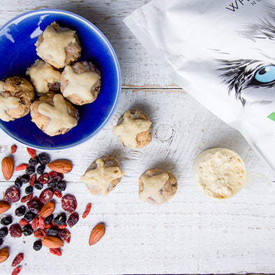 Hot Cross Bun Protein Balls