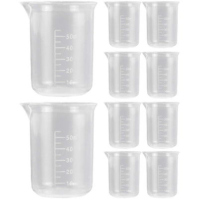 Graduated Measuring and Mixing Cups 10-count