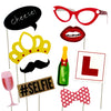 Hen Night Bachelorette Party Photo Booth Props 10 Count