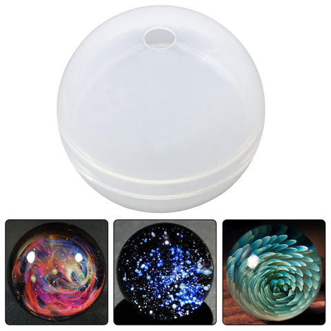 Sphere Paperweight Resin Silicone Mold 2.7inch