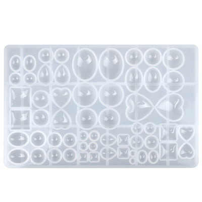 Cabochon Resin Silicone Mold 25.5x16x1.6cm