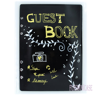 Notebook Cover A5 Resin Silicone Mold with Matching Book Rings