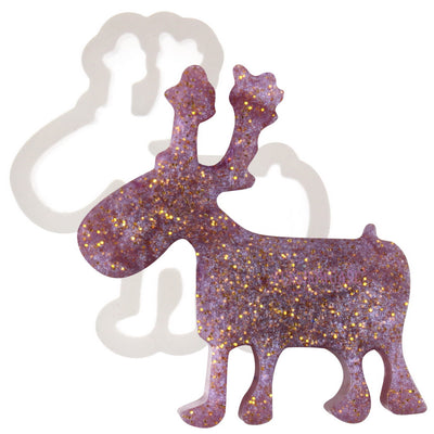 Reindeer Resin Silicone Mold Mini