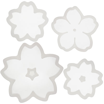 Cute Sakura Cherry Flower Silicone Mold 4-Count