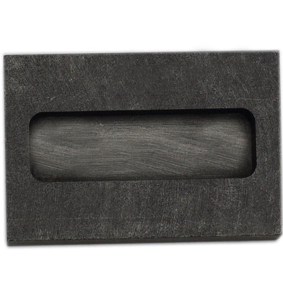 Jewelry Casting Graphite Ingot Mold Crucible Rectangle