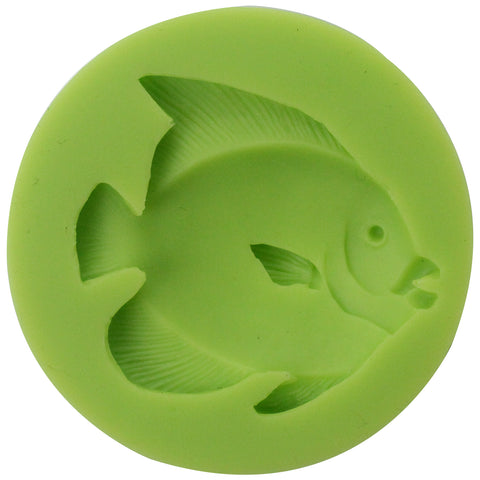 Angel Fish Fondant Silicone Mold