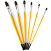 Paint Brushes Liners and Palette for Coloring and Decorating 9-in-set
