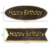 Happy Birthday Plaque Chocolate Plastic Mold