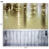Star Sparkles Setting Backdrop Champagne Large 10x10 feet