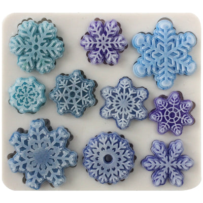 Magical Snowflake Lace Enhance Pattern Silicone Mold
