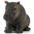 Baby Hippopotamus Figure Height 1.5-inch