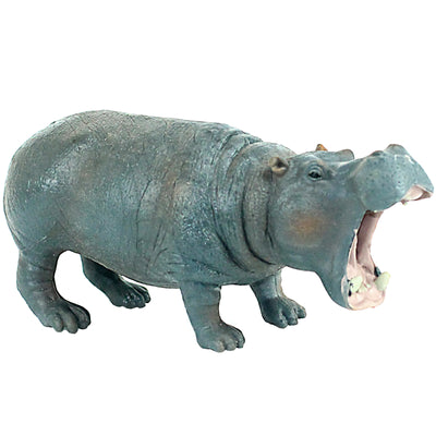 Hippopotamus Yawn Figure Height 2.4-inch