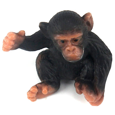 Young Chimpanzee Figure Height 1.4-inch