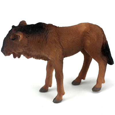 Young Wildebeest Figure Height 1.8-inch