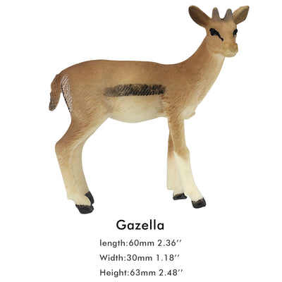 Gazella Female Figure Height 2.5-inch