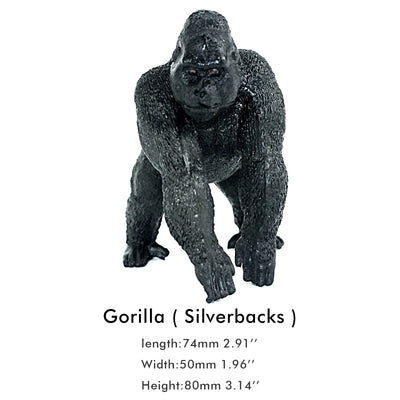 Female Gorilla Figure Height 3.1-inch