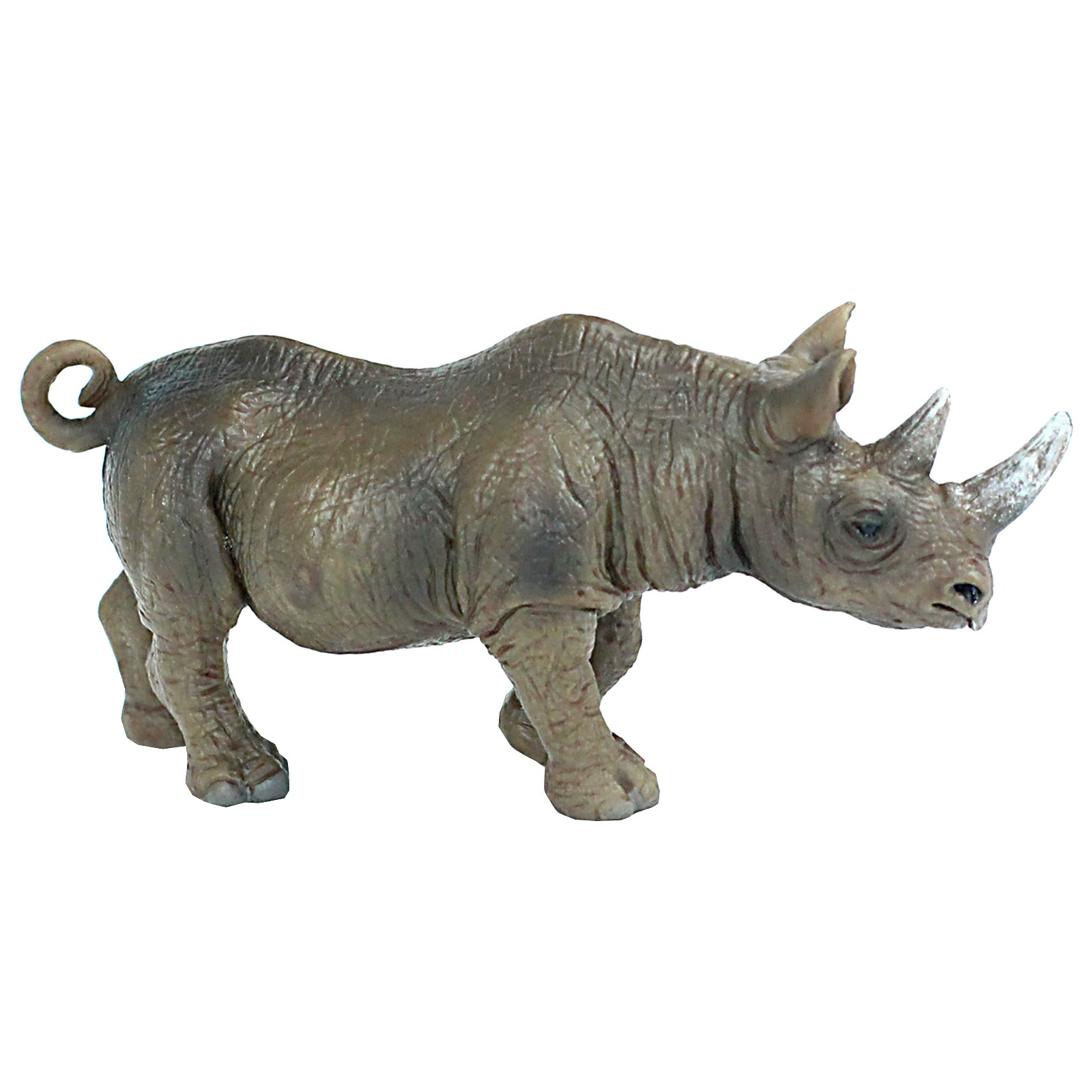 Male Rhino Bull Figure Height 2.4-inch