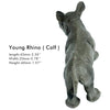 Young Rhino Figure Height 1.6-inch