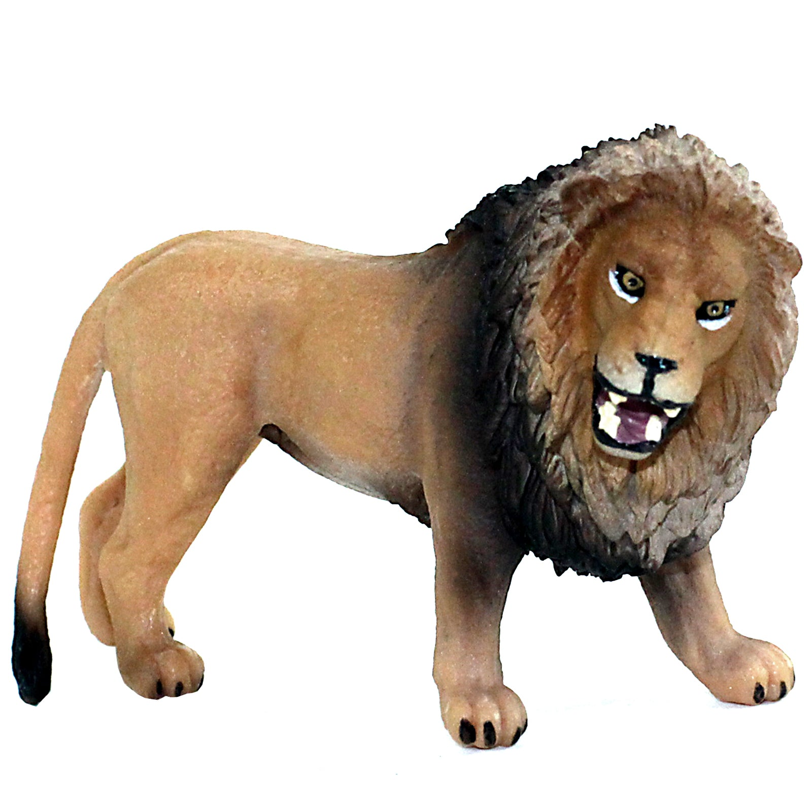 Male Lion Roaring Figure Height 2.8-inch