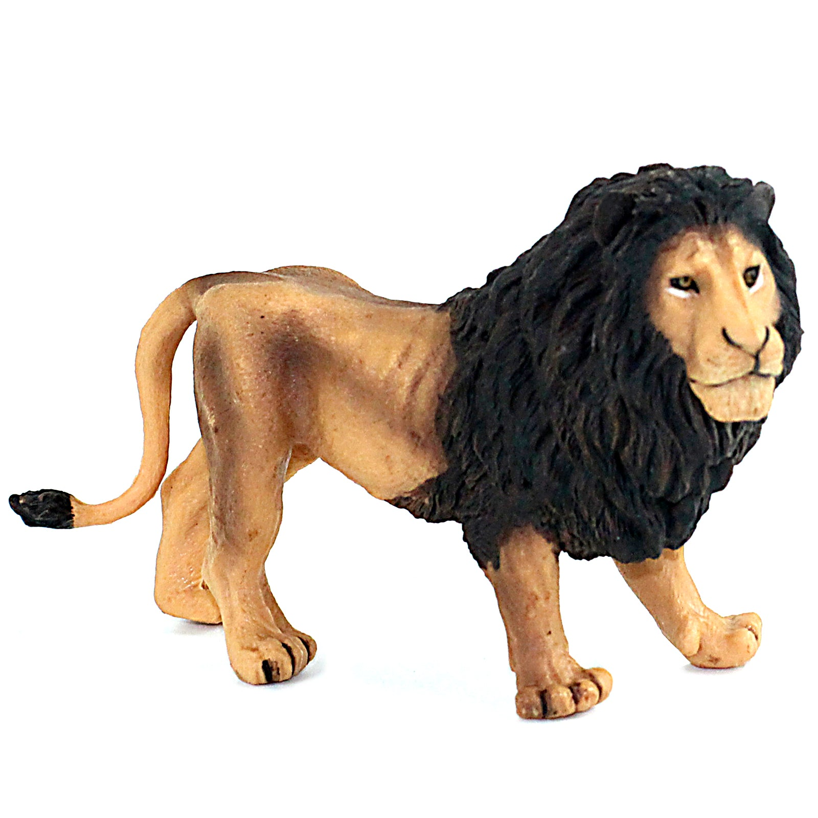 Lion with Dark Manes Figure Height 3.1-inch