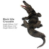 Black Nile Crocodile Figure Height 2.5-inch